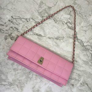 FIORELLI | Y2K pink quilted petite shoulder bag